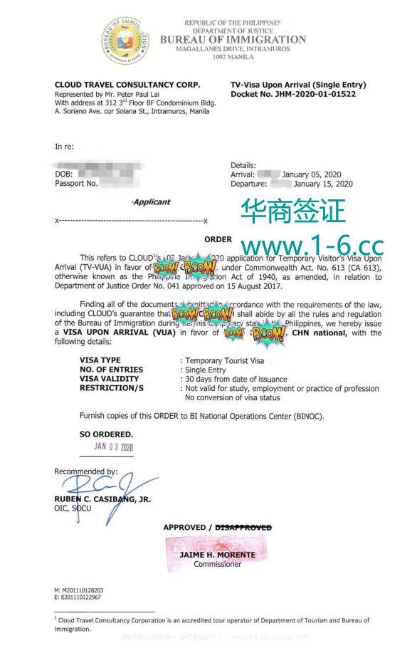 华商签证办理的落地签样式.jpg